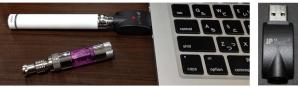 USBで電子タバコは充電します。