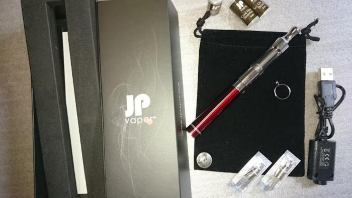 ジェイピーベポのスターターキットV650レッドのキット内容