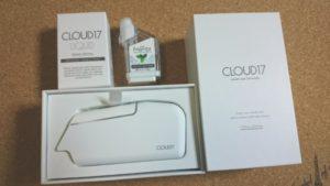 cloud17が届きました